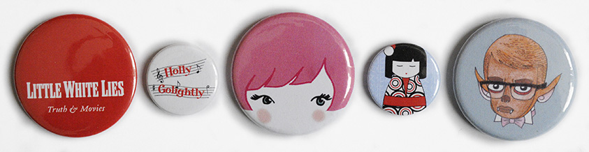 25mm and 45mm badge selection